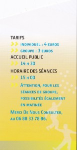 site horaires